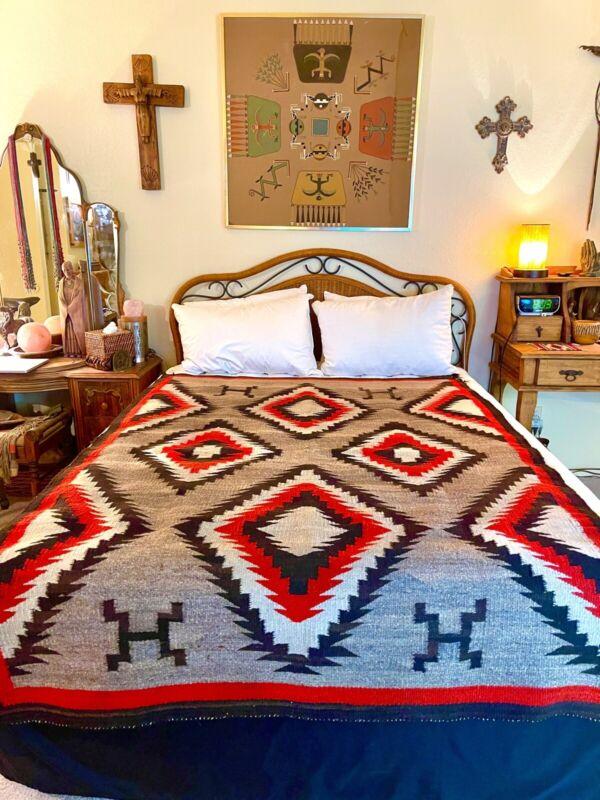 Vintage 1890's Navajo Rug