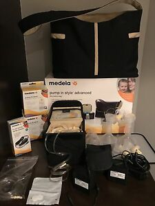 Medela Pump in style advanced with the metro bag and accessories