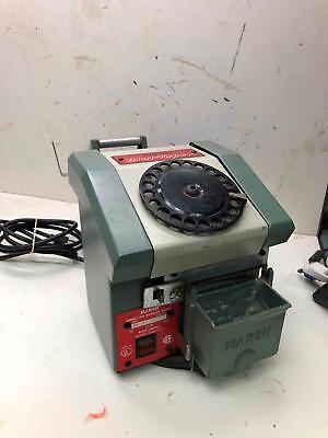 Marsh 3-d Dial-taper Gummed Tape Dispensing Machine