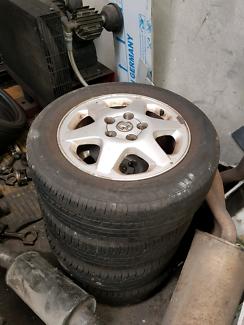 Astra alloy mag wheels