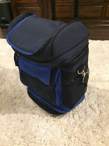 Insulated cooler bag.