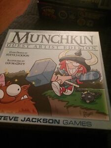 Munchkin and Space Munchkin (Guest Artist editions)