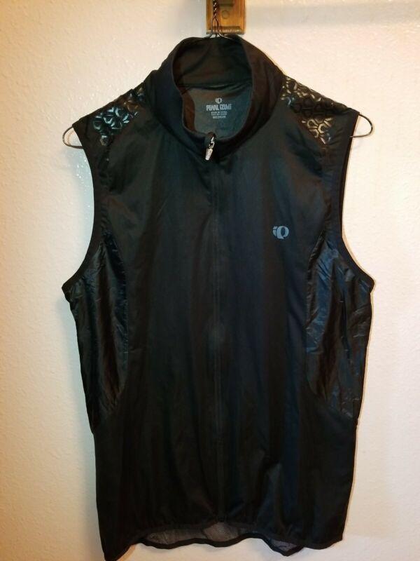 Pearl Izumi Ultra Vest Medium Black Cycling Vest Vented Mesh Pocket Retail $99