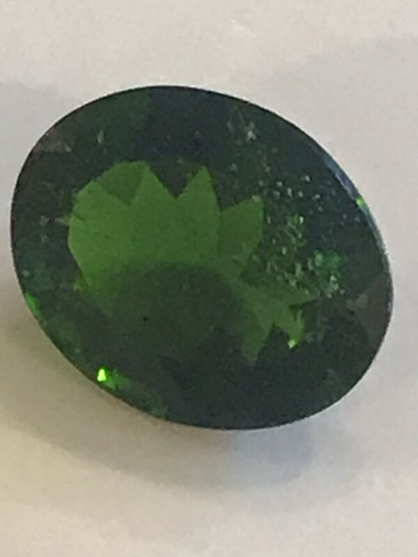 3.08 Ct. Beautiful ! Natural Russian Chrome Diopside oval cut Gr8 4 Collection