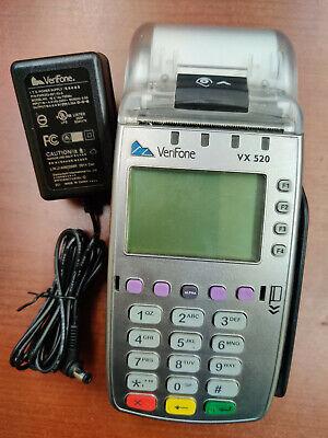 Unlocked Verifone Vx520 Emv Chip Reader Ctls Terminal M252-653-a3-naa-3
