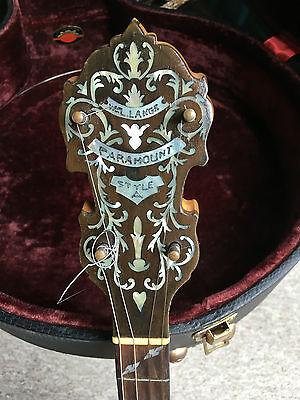 """Paramount Tenor Banjo Style """"A"""""""