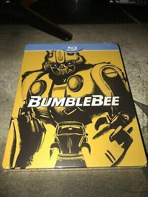 BumbleBee Blu-Ray HD Steelbook Edition NEW Sealed w/ J-card Transformers