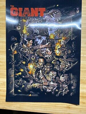 Call Of Duty: Black Ops 3 Zombies: The Giant Poster A4 Print 170gsm
