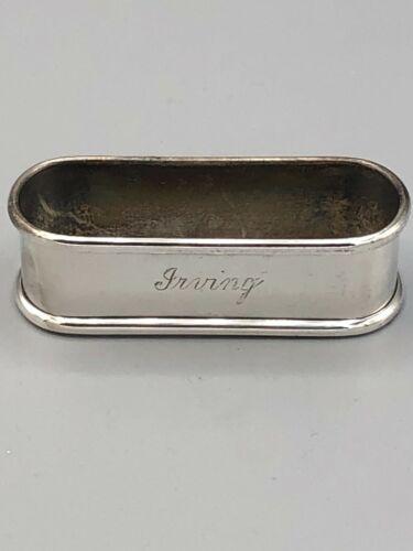 "Gorham Sterling Silver Napkin Ring Oblong  2 5/8"" long, # 630"