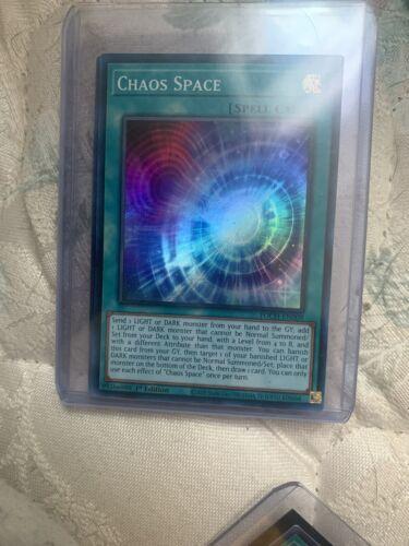 Chaos Space 1st Edition Super Rare TOCH-EN009 Yu-Gi-Oh  - $5.00