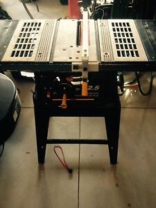 Master craft 10 inch table saw
