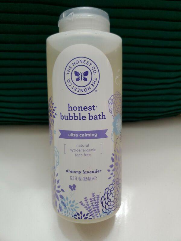 Honest Calming Lavender Hypoallergenic Bubble Bath. Sealed.