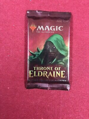 MTG Magic the Gathering Throne of Eldraine Collectors Booster Pack Brand New