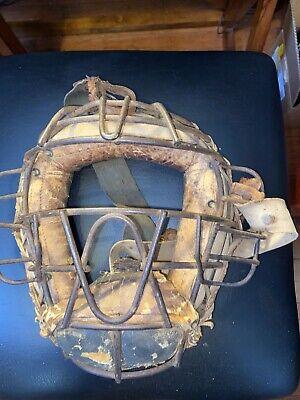 Little league Vintage pair Franklin P-50 Baseball catcher shin ...