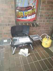 Brand new portable barbecue grill and got are bottle too Ballarat North Ballarat City Preview