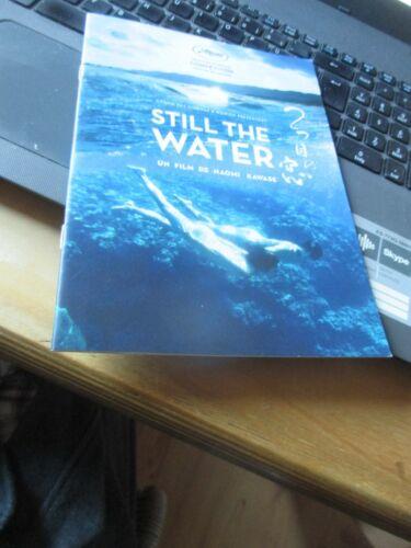 Naomi Kawase STILL THE WATER Pressbook CANNES 2014