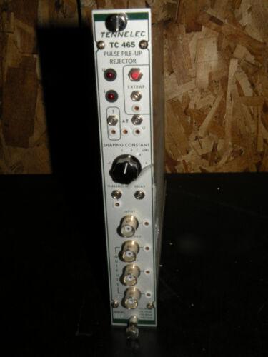 Tennelec TC 465 Pulse Pileup Rejector Plug-In Module TC465