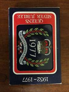 1977 Queens jubilee playing cards Cheltenham Kingston Area Preview