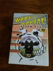 Wacky Wakers Alarm Clock Barnyard Series Mooooo Cow Sound