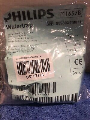 Philips Tubing Water Trap For Intellivue G1 And G5 Gas Modules - M1657b