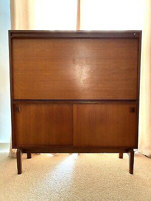 Vintage Solid Wood Bureau Desk Drawer