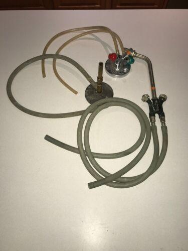VTG Dental Glassblowing Lot Blowtorch Bunsen Burner Veriflo No. 5 Blowpipe