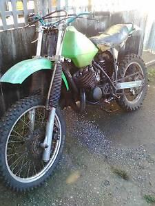 Kawasaki KDX 200 1983 Beaconsfield West Tamar Preview