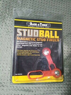 Rack-a-tiers Stud Ball Magnetic Stud Finder Red 52300