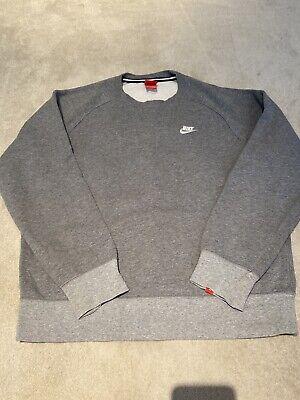 Nike Men Jumper Large Grey