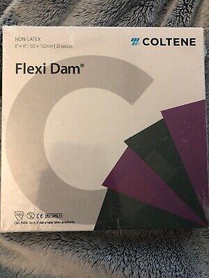 Coltene Non-latex 6x6 Flexi Rubber Dam Dental Material 30 Pieces