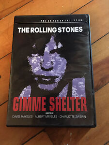 Criterion Collection Gimme Shelter DVD.