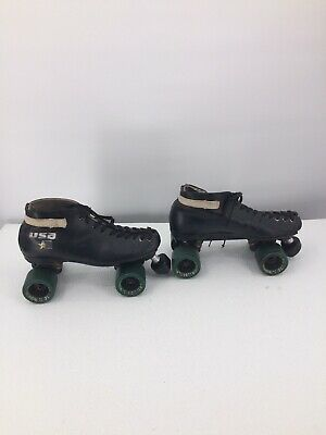 Riedell USA Speed Roller Skates Vintage Sure-Grip ...