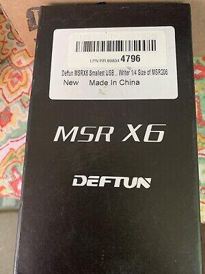 Msrx6 Smallest Magnetic Credit Card Reader Writer Encoder 13 Size Msr206 Msr605