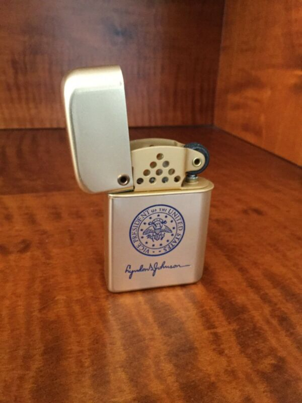 Vice President  Lyndon B. Johnson - Bowers Storm Master Lighter (LBJ)