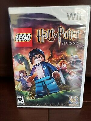 Lego Harry Potter Years 5-7 Wii Game - Brand New Sealed