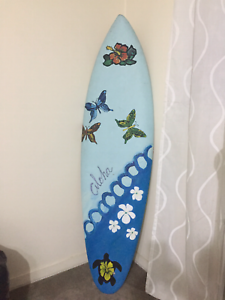 Surfboard decoration only
