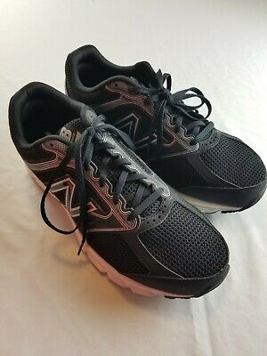 Men NEW BALANCE 460 M460LB2 Running Shoes Sneakers BLACK SILVER  10 4E Wide
