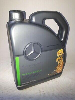 5 Liter Original Mercedes-Benz Genuine-Engine-Oil SAE 5W-30 MB 229.51