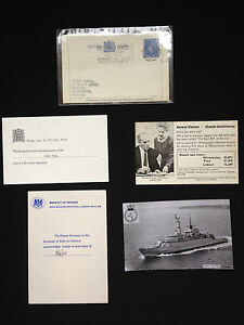 Five Political Pieces Of Ephemera Including House Of Commons & Hitler