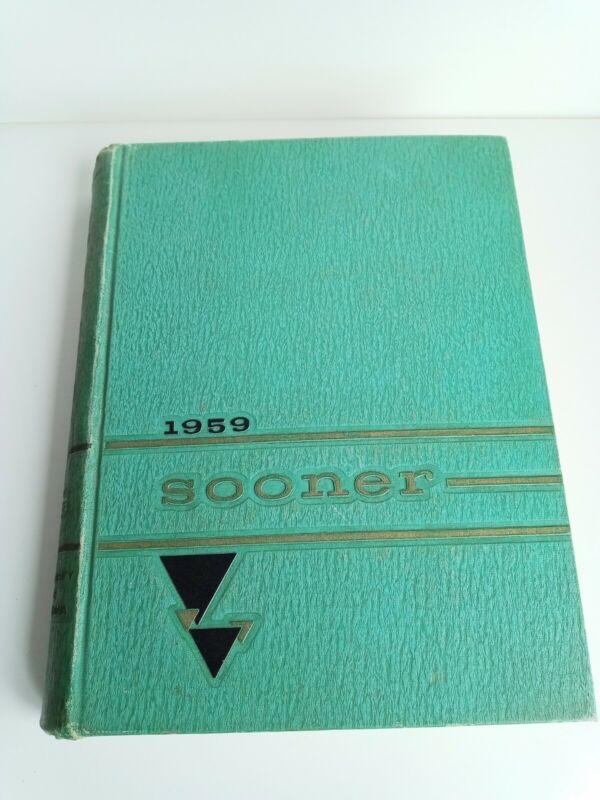 1959 UNIVERSITY of OKLAHOMA College Yearbook Sooner Wahoo Mcdaniel