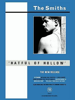 """The Smiths HATFUL OF HOLLOW 16"""" x 12"""" Photo Repro Promo  Poster"""