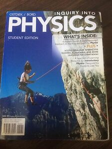 Inquiry into Physics textbook