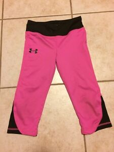 Girls size 6  under armour pants
