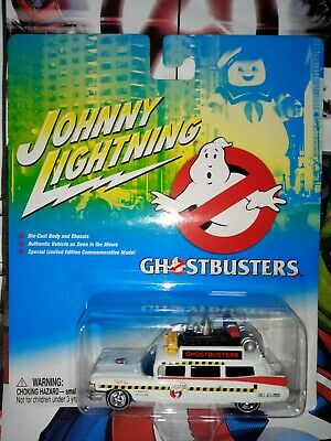 JOHNNY LIGHTNING - GHOSTBUSTER'S ECTO - 1-  1/64 DIE CAST COLLECTABLE -*NEW