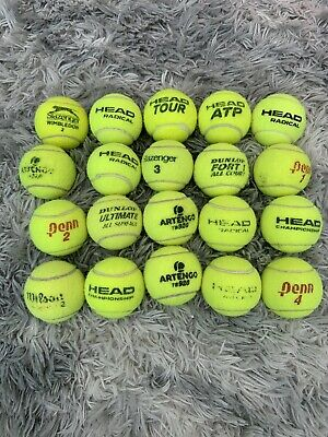 20 used tennis balls Great Condition Used Outdoors. Fast Post - Best Offer