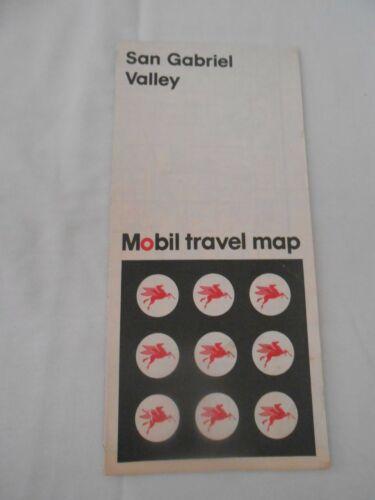 San Gabriel Valley Mobil travel map    free shipping