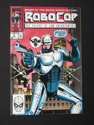 RoboCop #1  NM- 1990  High Grade Marvel Comic *UNREAD*