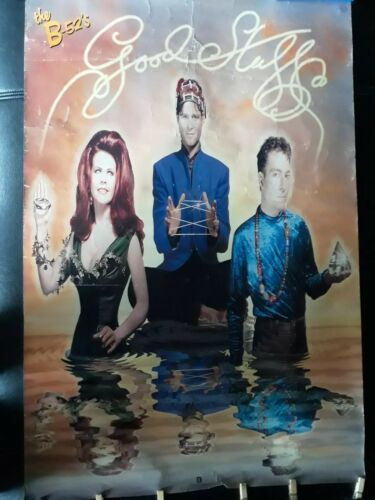 The B-52 s Promo Poster Good Stuff 1992 New Wave - $12.00