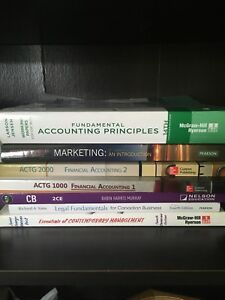 NSCC Business Administration books - 1st & 2nd year