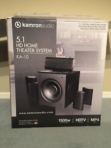 Kamron Audio Home Theatre System MSRP $2100